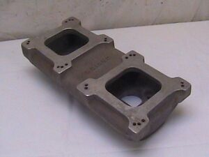 Weiand Small Block Chevy Ford Tunnel Ram Top 2x4 Dual Quad Sbc Sbf 1912