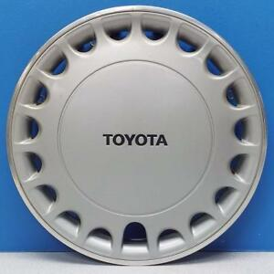 One 1988 1989 Toyota Corolla 61044 19 Slot 13 Hubcap Wheel Cover 4260212130