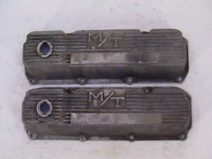 M T Ford Valve Covers 351 C Mickey Thompson Cleveland Modify Boss