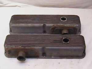 Vintage Cal Custom Fe Ford Valve Covers Big Block Ford