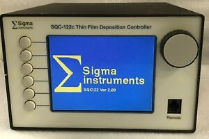 Sigma Instruments Sqc 122c Thin Film Deposition Controller 4 Month Warranty