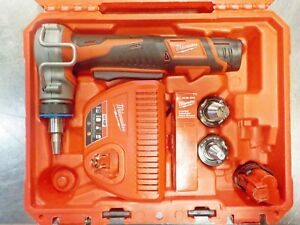 Milwaukee 2432 20 M12 Cordless Propex Expansion Tool 3 Heads 2 Batt Case