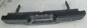 Rear Bumper Black With Grey Pads Full Without Towing Toyota Tacoma 2003