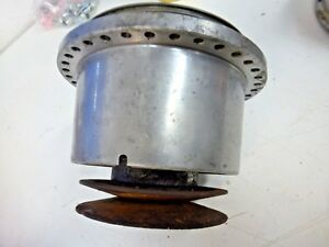 Vintage Mcculloch Supercharger Vs57 Main Body Spins Freely 1957 Thunderbird