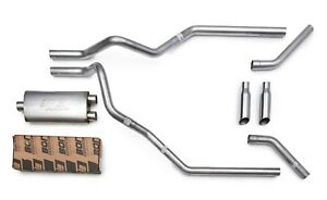 Borla Proxs All stainless Mandrel Dual Truck Exhaust For 2009 18 Chevy Silverado