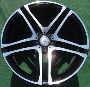 Oem Factory Amg Mercedes Benz Gle63 Black 22 Inch Forged Wheels Coupe Gle Gle43