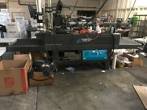 Workhorse Pq4013 Screen Printing Dryer 13 Long X 40 Wide Belt 2015 Model