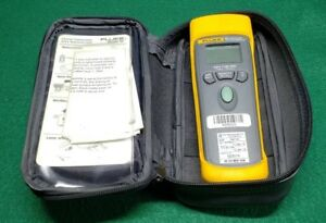 Fluke 65 Infrared Thermometer Very Good Condition Current Calibration With Case