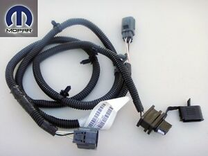 Jeep Wrangler 2007 2013 4 Way Trailer Tow Hitch Towing Plug Wiring Harness