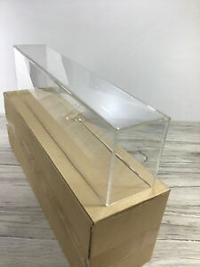 3 Diecast Model Cars dragsters Acrylic Display Cases 16 X 2 1 2 X 4 Dc110