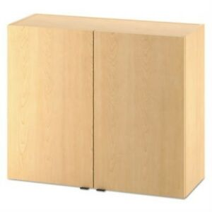 Hon Hphc2d36d Hospitality Wall Cabinet Two Doors 36w X 14d X 30h Natural Map