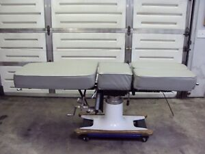 Mcmanis Osteopathic chiropractic Table Grey