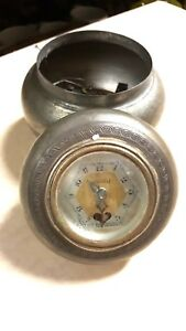 Old Antique Vintage Lux Heartbeat Clock Music Box