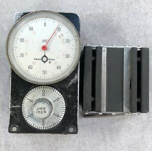 Swi Trav a dial 001 Travel Dial Readout W Mounting Base 6a