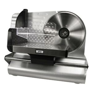 Ham Slicing Machine Deli Slicer Electric Meat Food Bread Large Cheese Commercial
