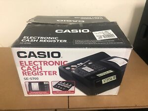 Casio Se s700 Electronic Cash Register