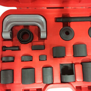 Top 21pc Automotive Ball Joint C frame Adapter Master Repair Hand Tool Set Us