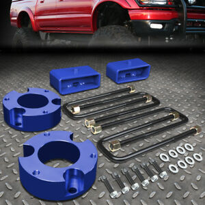 For 2005 2018 Toyota Tacoma 2 4wd Blue 3 f 2 r Spacers blocks Leveling Lift Kit