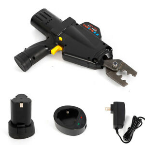 Handheld Electric Battery Powered Cable Wire Terminal Crimper Crimping Tool Hot