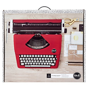 Typecast Retro Typewriter By We R Memory Keepers Red