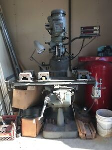 Bridgeport Series 1 2hp Vertical Milling Machine