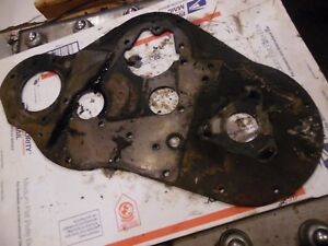 1972 David Brown 990 Diesel Farm Tractor Front Engine Plate