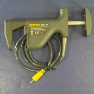 New Fluke 80pk 10 Pipe Clamp Thermocouple Excellent Condition