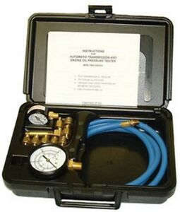 Deluxe Pressure Tester For Automatic Transmission And Engine Oil Sgt 34580 New