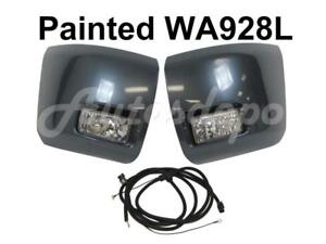 Painted Wa928l Front Bumper End Cap Fog Light Harness For Silverado 1500 2007 13