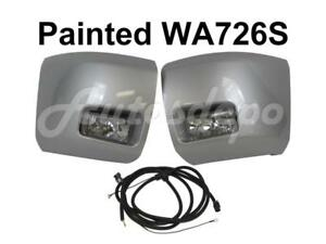 Painted Wa726s Front Bumper End Cap Fog Light Harness For Silverado 1500 2010 11