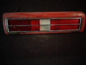 1973 Pontiac Grand Am Colonnade Taillight Tail Lamp Assembly Guide 2a2 L 5964645