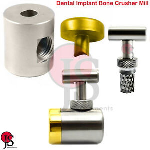 Implant Bone Graft Crusher Mill Grinder Dental Augmentation Tools