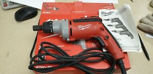 Milwaukee 6780 20 Metal Fastening Adjustable Clutch Screwdriver used Once