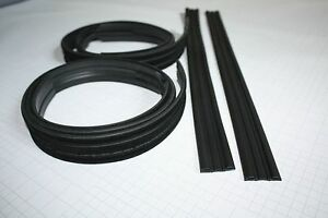 New Datsun 240z Door Lh Rh Glass Channel Rubber Weatherstrip Seal