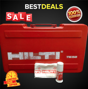 Hilti Case For Te 52 kit Box Only Preowned Free Grease Fast Shipping