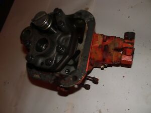 1959 Case 800 Gas Farm Tractor Hydraulic Pump Valve Assembly