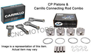 Acura Honda B16a 11 5 1 Cp Piston With Carrillo Connecting Rods Combo 82mm