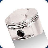 182059 Je 350 Dome Pistons 402 Sb Chevy 4 130 Bore 14 1 1 Compression