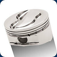 232476 Je Big Bore Dome Pistons 428 Sb Ford 4 125 Bore 14 9 1 Compression