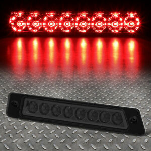 For 87 93 Ford Mustang Gt Cobra Hatchback Led Third 3rd Tail Brake Light Smoked