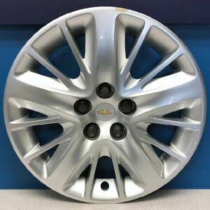 One 2014 2019 Chevrolet Impala Ls 3299 18 Hubcap Wheel Cover Oem 20955585