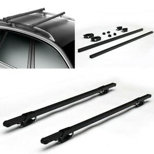 Universal 48 Car Top Roof Cross Bar Rail Luggage Cargo Carrier Rack 110 Lbs