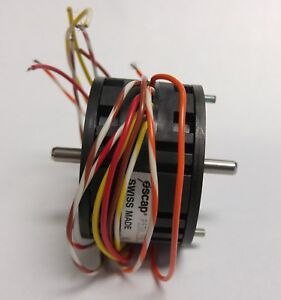 New Old Stock Escap High Speed Step Stepping Motor P530 258 0 7 07 Custom Shaft