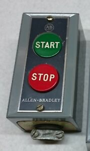 Allen Bradley Push Button Switch Start Stop 800s 2s