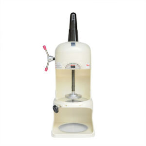 Asg 110v Commercial Ice Shaver Shaved Machine Electric Snow Cone Maker 90kgs h