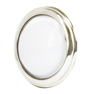 Interior Round Dome Light Nickel 6v For 1930 31 Model A Coupe