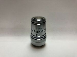 Zeiss Ph3 Plan neofluar 63x Microscope Objective 160mm Phase Contrast 46 18 37