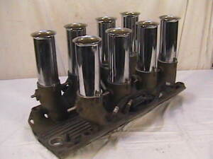 Vintage Hilborn Chevy Fuel Injection Intake Manifold Big Block Chevy Bbc