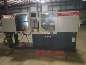 1994 35 Ton Demag 350 80 Plastic Injection Molding Ref 7795603