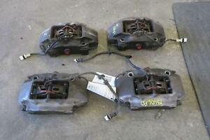 2006 2008 Porsche Cayman Caliper Set Front Rear 2 7l Oem